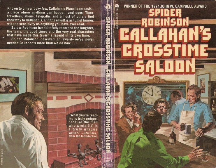 the real life situations in callahan chronicals by spider robinson It is apparent that robinson is well aware of the harsher social realities that many people in the sex trade face in real life violence and inhuman harm against sex workers are common, and to some extent secretly approved by the larger society.