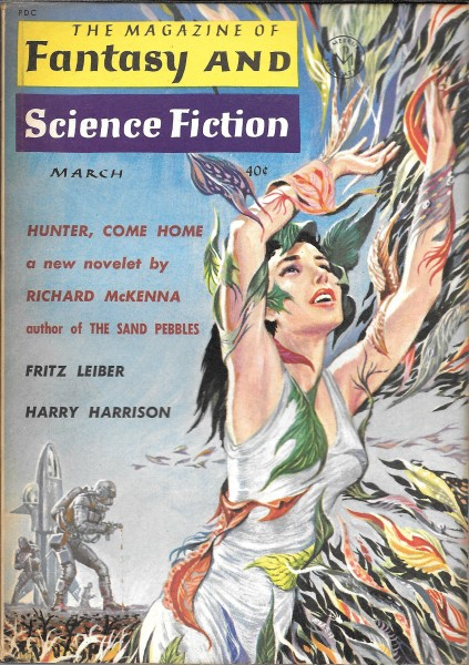 All Covers for The Magazine of Fantasy and Science Fiction