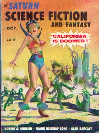 Saturn Science Fiction and Fantasy, October 1957