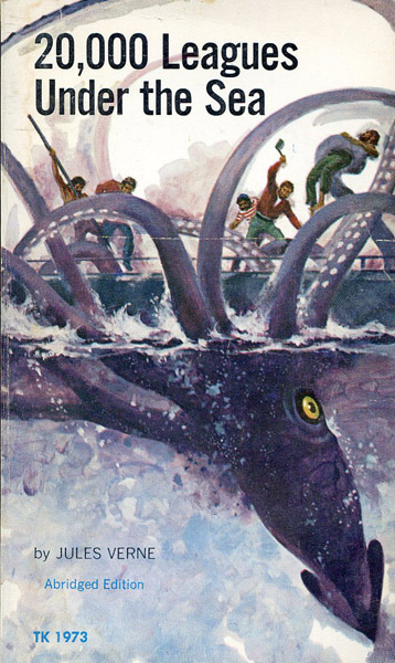 an analysis of the title 20000 leagues under the sea by jules verne