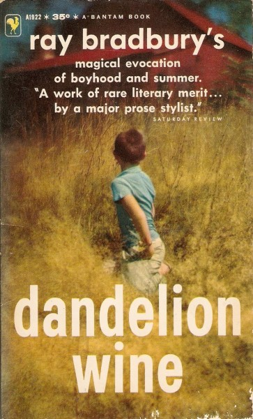 an analysis of dandelion wine by ray bradbury This study guide consists of approximately 53 pages of chapter summaries, quotes, character analysis, themes, and more - everything you need to sharpen your knowledge of dandelion wine as in many of his other works, bradbury explores time in dandelion wine the book begins on the first day of.