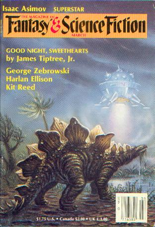 The Magazine of Fantasy and Science Fiction, March 1986