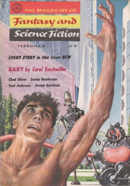 The Magazine of Fantasy and Science Fiction, February 1958