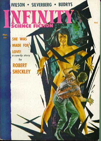 Infinity Science Fiction, March 1958
