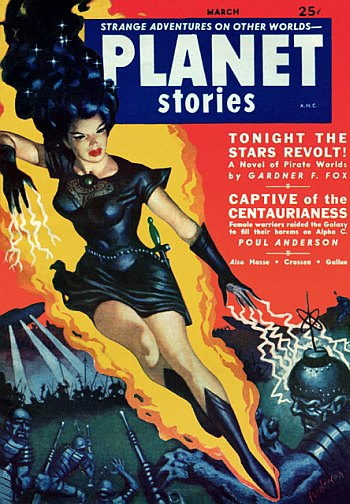 Planet Stories, March 1952