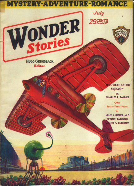 Wonder Stories, July 1930