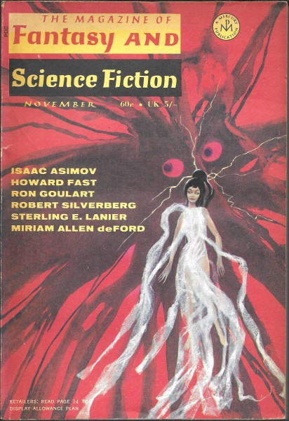 The Magazine of Fantasy and Science Fiction, November 1969