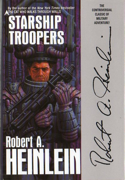 publication starship troopers