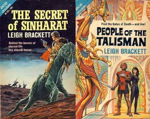 Ed Emshwiller covers for original edition of The Secret of Sinharat/People of the Talisman