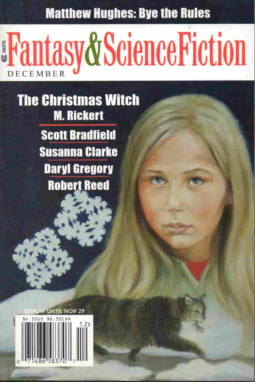 Fantasy & Science Fiction, December 2006, by Laurie Harden