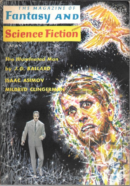 Fantasy & Science Fiction, May 1964, cover by Emsh