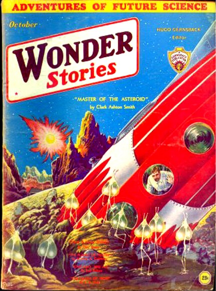 Wonder Stories, October 1932