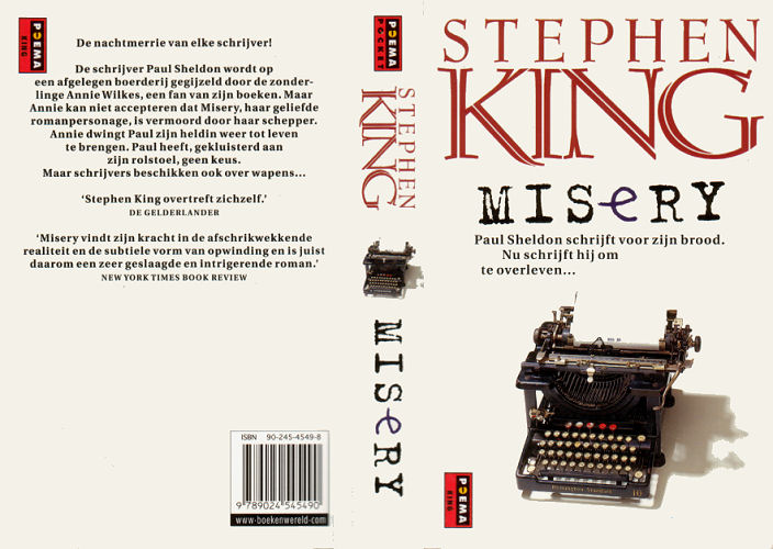 an analysis of annie wilkes a character in the novel misery by stephen king Annie to paul anne marie annie wilkes dugan is the main antagonist  a fake manuscript of misery's  actor/actress to win for a stephen king.