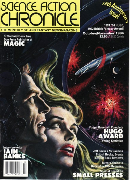 Publication: Science Fiction Chronicle, #177 October 1994