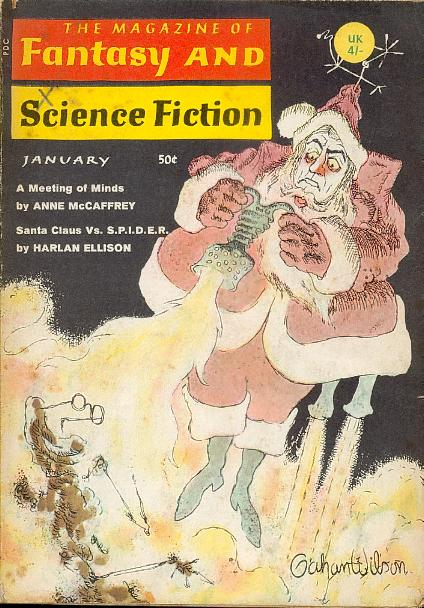 Fantasy & Science Fiction, January 1969, cover by Gahan Wilson