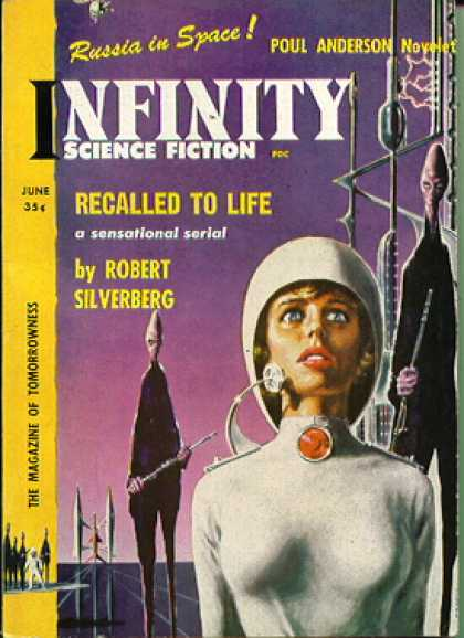 Infinity Science Fiction, June 1958