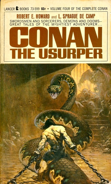 Book Cover Fantasy Wiki : Publication conan the usurper