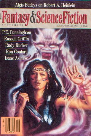 The Magazine of Fantasy and Science Fiction, September 1988