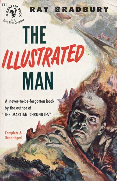 Illustrated Book Cover Notes : Publication the illustrated man