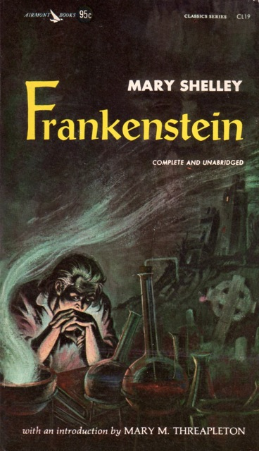 the symbol of frankenstein in mary shelleys novel the modern prometheus Frankenstein or, the modern prometheus, is a novel written by english author mary shelley about eccentric scientist victor frankenstein, who creates a grotesque creature in an unorthodox scientific experiment.