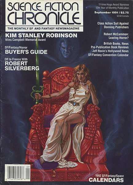 Publication Science Fiction Chronicle 143 September 1991