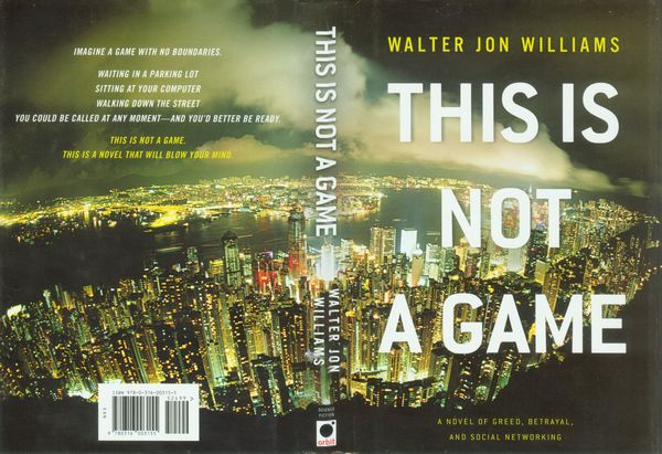 this is not a game williams walter jon