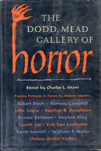 The Dodd, Mead Gallery of Horror - ed. Charles L. Grant
